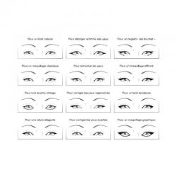 Eyeliner feutre noir certifié bio Bo-ho