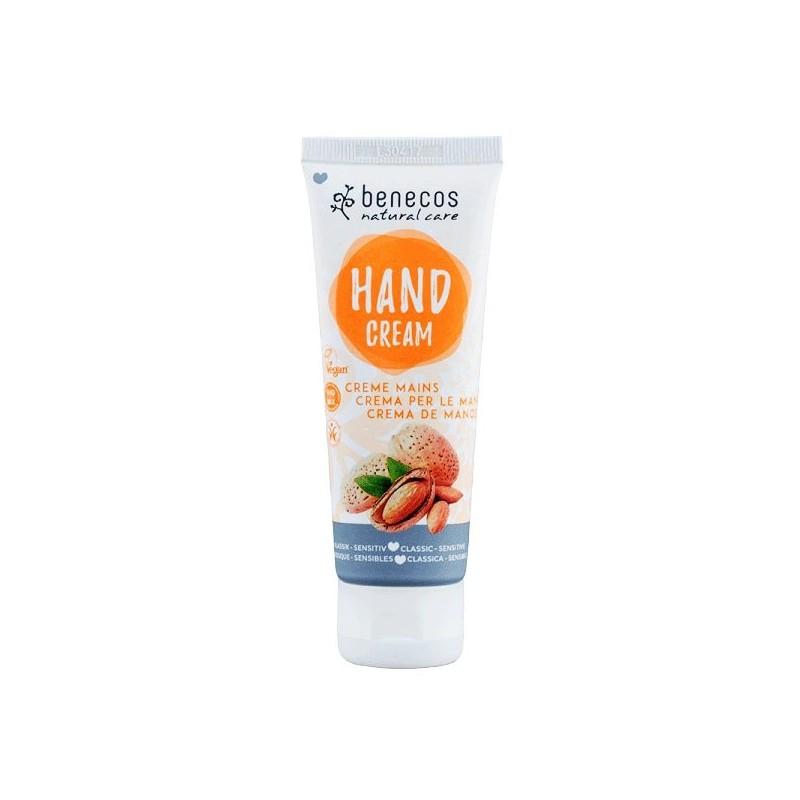 Crème mains classique et sensible bio Benecos