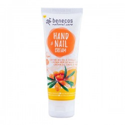 Crème mains et ongles argousier et orange bio Benecos