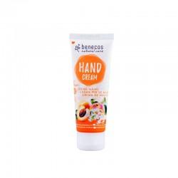 Crème mains abricot et fleur de sureau bio Benecos