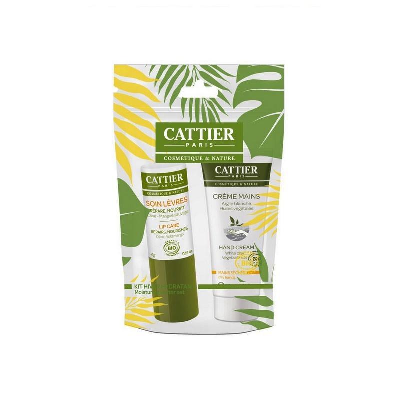 Kit Hydratant Mains et Lèvres bio Cattier