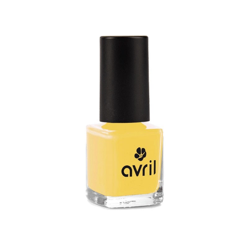 Vernis à ongles jaune curry Avril
