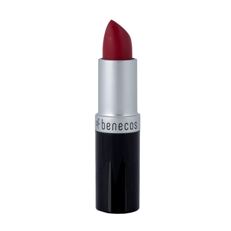 Rouge à lèvres rouge classique just red bio Benecos