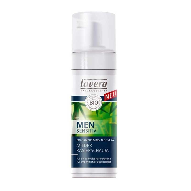 Mousse à raser douceur  men sensitiv bio Lavera