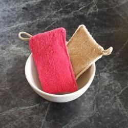 L'éponge lavante à récurer