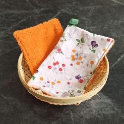 L'éponge lavette douce