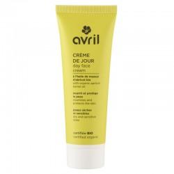 Crème de jour peaux sèches et sensibles certifiée bio Avril