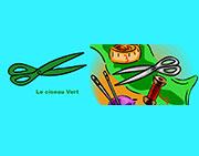 le ciseau vert